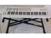 Keyboard piano E-MU LONGboard 61 keys AND STAND