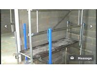 Stairsafe scaffold
