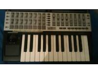 Novation SL 25 remote. Midi controller, keyboard