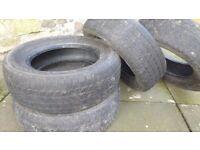 Set of 4 Blizzak winter tyres. 205 65 15. Super cheap.