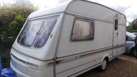 swift coronette 1995 2 birth single axel caravan