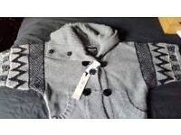 Ladies River Island wool cardigan size 10 grey £20