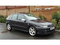 Seat Leon Cupra TDI (150) - LHD (LEFT HAND DRIVE) + 2003/53 + UK REG + 1 OWNER + HIGH SPEC + BLACK +