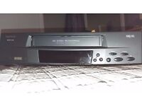 Video cassette player / recorder with power cable and tv lead