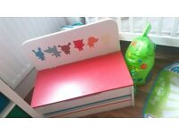 Toy box with seat
