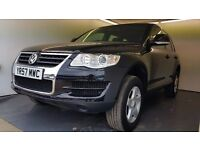 2007   Volkswagen Touareg 2.5 TDI   Manual   Diesel   6 Months Warranty  1 Owner From New  Full Hist