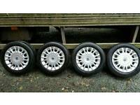"Fiat 14"" Alloy wheels"