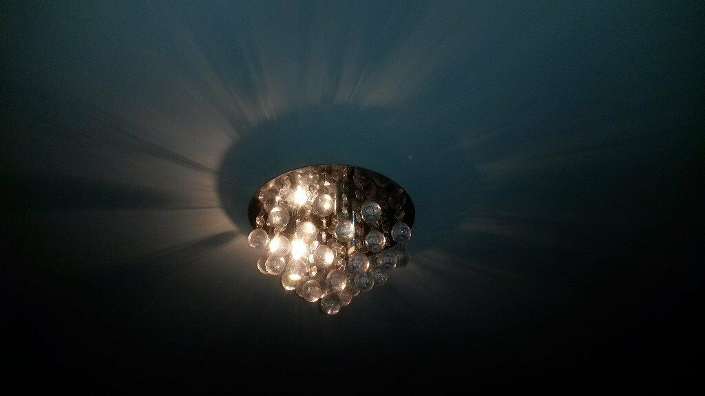 quality design b2b07 ddb68 Ivy Glass Droplet ceiling light | in Stoke-on-Trent, Staffordshire | Gumtree