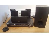 Sony DVD Home Cinema System with 5 speakers and Sub Woofer