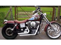 HARLEY WIDE GLIDE 1450 STAGE 5 TUNE CUSTOM QUICK AND LOUD