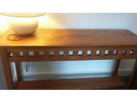 Beautiful Solid Wood Console Table
