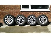 """4 Ford Kuga 17"""" alloy wheels"""