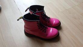 Bright Pink Dr Martens