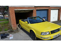 Audi 80 Cabriolet Convertible 1.8 Yellow