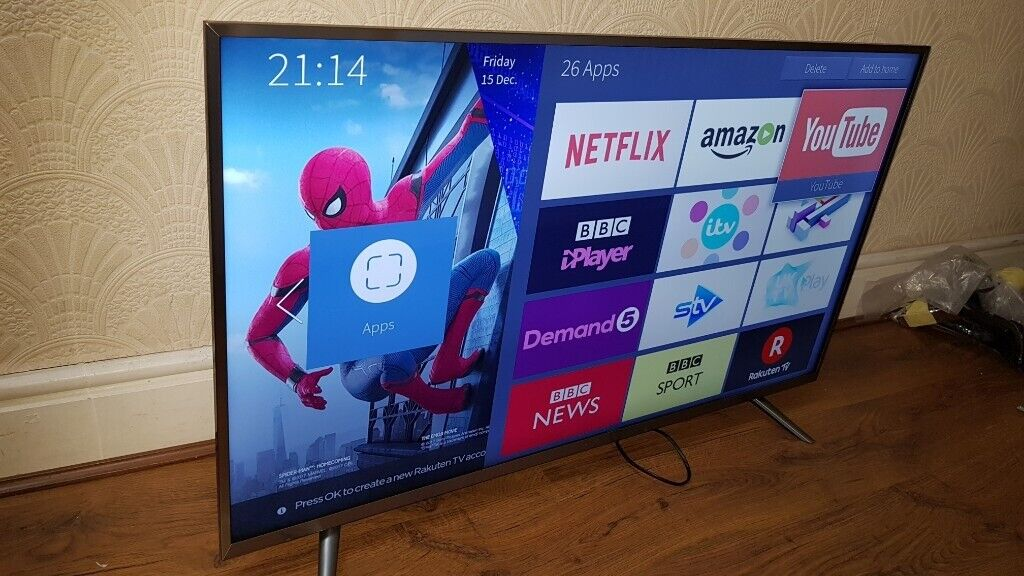 NEW & BOXED Hisense 43 inch 4K Ultra HD HDR10 Smart LED TV Freeview Play,  FREESAT HD   in Salford, Manchester   Gumtree