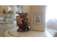 Very Rare Vintage 1989 June McKenna Christmas Collectible's Limited Edition Santa's Wardrobe