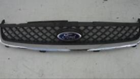 Ford Fiesta Mk6: ST seats, chrome grille, front and rear bumper