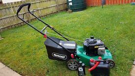 Qualcast 41cm push petrol lawnmower 125cc