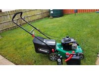Qualcast 41cm push petrol lawnmower 125cc