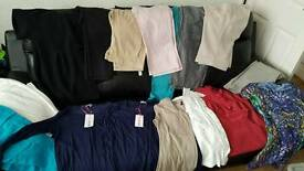 Job lot of ladies clothes 75 items in total Some new with tags various sizes and brands