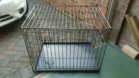30 inches Long x 21 wide x 23 on height dog cage