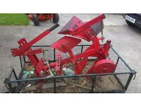 Single furrow plough reveseable