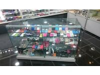 Glass Retail Shop Counters - With Locks