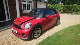 Rare Mini Cooper SD Convertible with JCW body Kit, Sport Pack, Chilli Pack, Leather & Harman Kardon