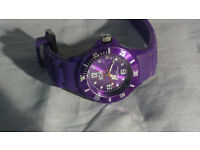 Ice Watch Purple (also have Rolex, Gucci, Breitling, AP, Omega Chanel, MK, Kors,Tag, Jimmy Choo))