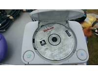 Ps1 console and game only!