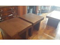 barker and shonehouse coffee table and 2x size table