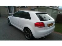 This is a rare Audi a3 s LINE Quattro super car Mot March 2019 offers over £3000 may PX