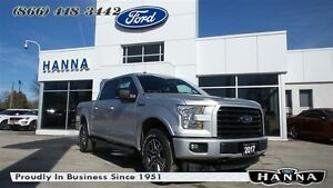 2017 Ford F-150 *NEW*0% 72 MONTHS!*SUPERCREW XLT*SPORT*4X4 5.0L