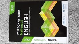 SQA National 5 English past papers