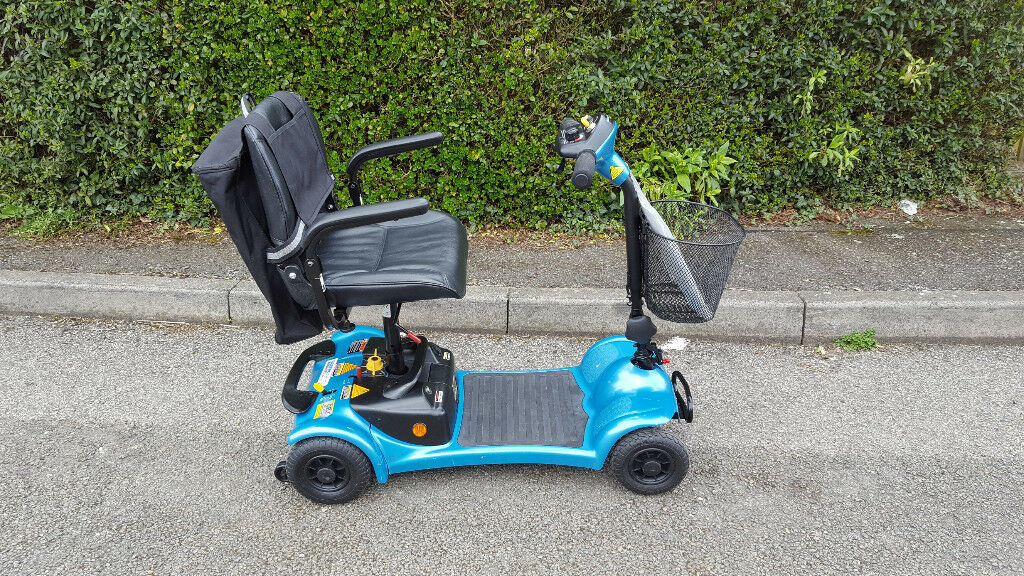 Car Boot Ultralight 480 Lightweight Portable Mobility Scooter In