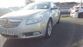 Vauxhall Insignia 2.0CDTi Exclusiv 130CDTI 5 DOOR HATCHBACK - 2009 59-REG - 9 MONTHS MOT
