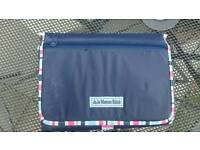 Jojo Maman Bebe Travel change mat and Cot insect cover
