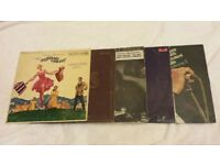 Collection of Vinyl LP Records Johnny Cash, Carpenters, BeeGees etc Music Records Joblot