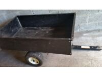 Steel Trailer - 17 cubic feet - Very good condition
