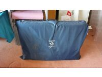 2 FOLDABLE MASSAGE TABLES FOR SALE WITH CARRYING BAG. GREAT CONDITION.