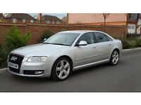 Audi A8 FSI Sport Auto F1-Paddle-Shift (2008/08 Reg) + NEW SHAPE + SAT NAV + XENONS + MASSIVE SPEC +