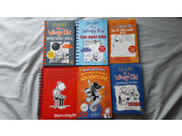6 x BUNDLE DIARY OF A WIMPY KID WRECKING BALL FRIENDLY ADVENTURE DEEP END