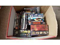 Box of DVD movies, 25+