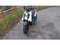 yamaha bws 125 2012 4stroke scooter bws125 fuel injected 125 low mileage