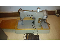 Retro Singer Sewing Machine. Model 185K. Offers.