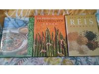 3 German cookery books