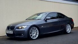 2008 BMW 335D M SPORT COUPE 400 BHP DYNO NATIONWIDE DELIVERY CREDIT CARD FACILITY GURANTEED £200 PX