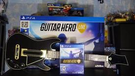 Guitar hero live PlayStation 4