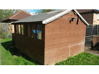Garden Shed, 3.0m x 3.8m (10' x 12'). Good condition. *Free to collect*
