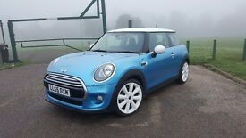"F56 MINI Cooper Hatchback, CHILI Pach, 18"" Cone alloy wheels, cruise control"